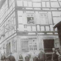 """Schmiede v. Friedrich Dieruff; Quelle: """"Unser liebes, altes Wimpfen."""" G. Haberhauer"""